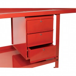 Locking 3 Drawer Unit for Workbench