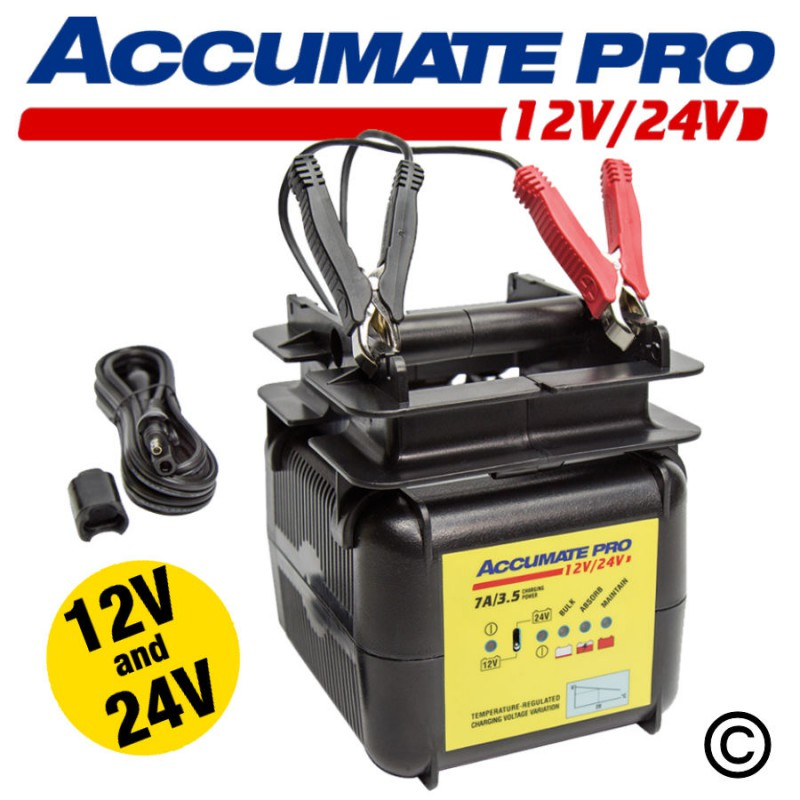 AccuMate PRO 12-24V Charger
