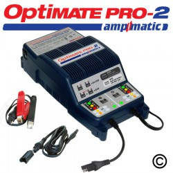 OptiMate Pro-2 Battery Charger - 2 x 12V