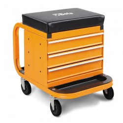 Heavy Duty Creeper with Tool Chest