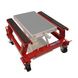 Workshop Dolly, shown with SJ220 Wide Scissor Stand