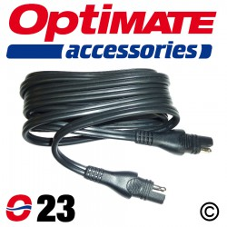 O-23 OptiMate SAE Extension Lead - 4.6m Arctic