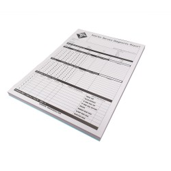 Injector Service Report Pad