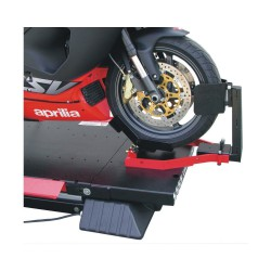 Automatic Wheel Clamp for Motorcycle Lift