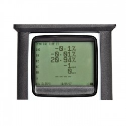 MicroGas 4-Gas Infra-Red Analyser Screen