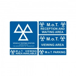 MoT Sign Kit