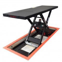 750kg In Floor Electro-Hydraulic Scissor Lift