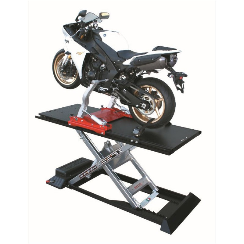 500kg Motorcycle Lift with Twin Arm Hydraulic System